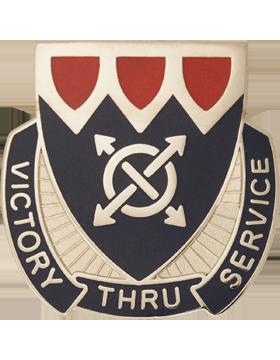510th Personnel Services Battalion Unit Crest (Victory Thru Service)