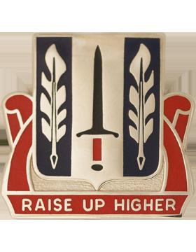 516th Personnel Services Battalion Unit Crest (Raise Up Higher)