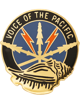 516th Signal Brigade Unit Crest (Voice Of The Pacific)
