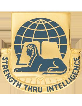 519th Military Intelligence Unit Crest (Strength Thru Intelligence)