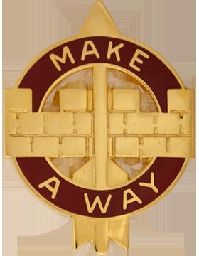 524th Support Battalion Unit Crest (Make A Way)
