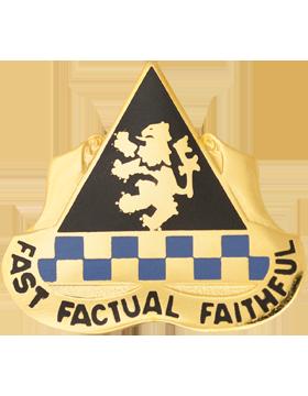 525th Military Intelligence Brigade Unit Crest (Fast Factual Faithful)