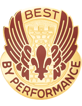 526th Support Battalion Unit Crest (Best By Performance)