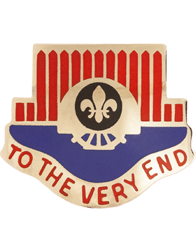 528th Engineer Battalion Unit Crest (To The Very End)