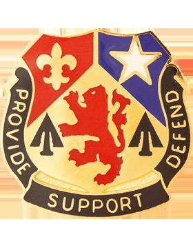 536th Support Battalion Unit Crest (Provide Support Defend)