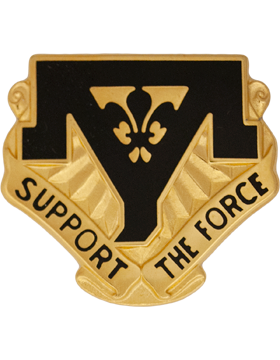544th Maintenance Battalion Unit Crest (Support The Force)
