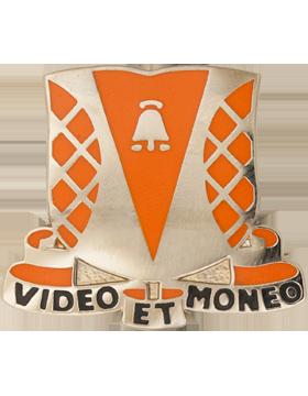 551st Signal Battalion Unit Crest (Video Et Moneo)