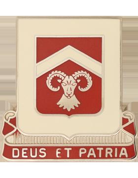 553rd Engineer Battalion Unit Crest (Deus Et Patria)