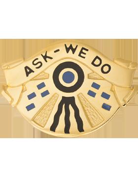 553rd Support Battalion Unit Crest (Ask We Do)