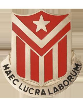 544th Engineer Battalion Unit Crest (Haec Lucra Laborum)