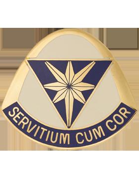 0620 Support Battalion Unit Crest (Servitium Cum Cor)