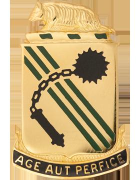 0632 Armor Unit Crest (Age Aut Perfice)