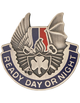 0638 Support Battalion Unit Crest (Ready Day Or Night)