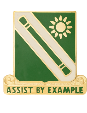 0701 Military Police Bn Unit Crest (Assist By Example)