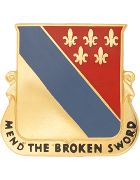 0702 Support Bn Unit Crest (Mend The Broken Sword)