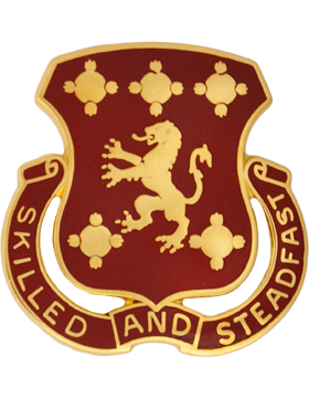0704 Maintenance Battalion Unit Crest (Skilled And Steadfast)