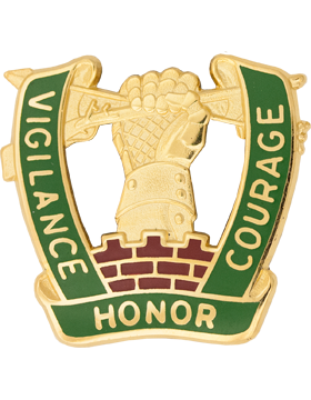 0705 Military Police Battalion Unit Crest (Vigilance Honor Courage)