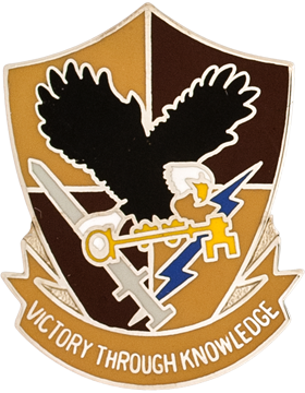 0706 Miltiary Intelligence Group Unit Crest (Victory Through Knowledge)
