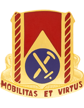 0710 Support Bn Unit Crest (Mobilitas Et Virtus)