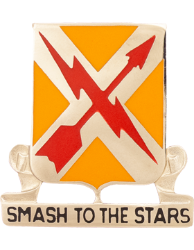 0711 Signal Bn Unit Crest (Smash To The Stars)