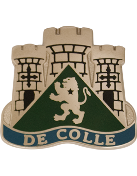 0713 Military Intelligence Group Unit Crest (De Colle)