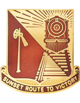 0719 Transportation Bn Unit Crest (Sunset Route To Victory)