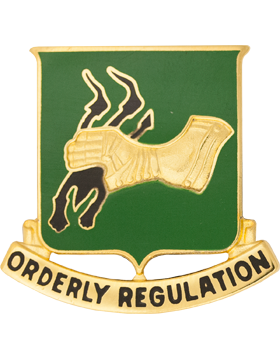0720 Military Police Bn Unit Crest (Orderly Regulation)