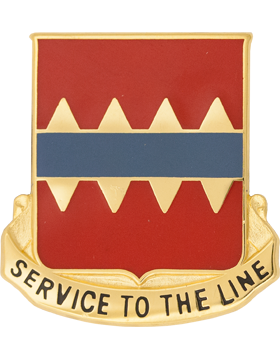 0725 Support Bn Unit Crest (Service To The Line)