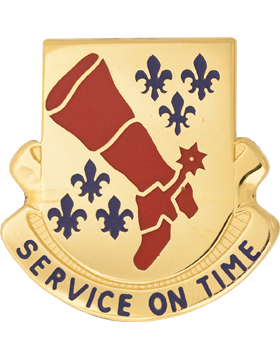 0728 Support Bn Unit Crest (Service On Time)