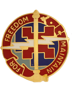 729th Support Battalion Unit Crest (Maintain For Freedom)