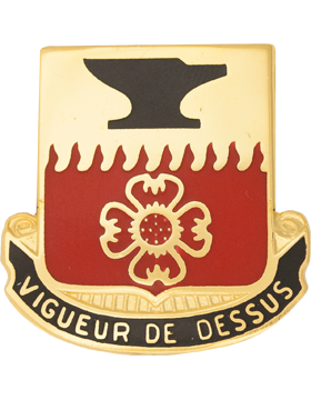 730th Quartermaster Battalion Unit Crest (Vigueur De Dessus)