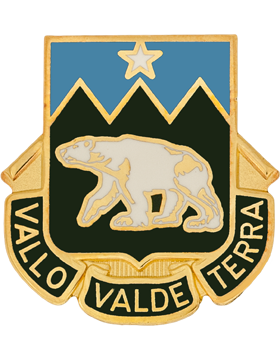 761st Military Police Battalion Unit Crest (Vallo Valde Terra)