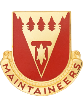 0801 Support Bn Unit Crest (Maintaineers)