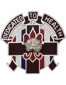 0807 Medical Bde Unit Crest (Dedicated To Health)