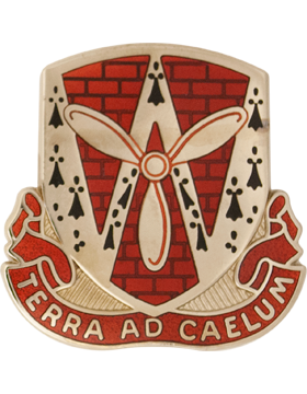 0844 Engineer Bn Unit Crest (Terra Ad Caelum)