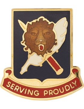 0847 Personnel Services Bn Unit Crest (Serving Proudly)