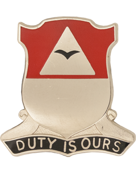 0890 Engineer Bn Unit Crest (Duty Is Ours)