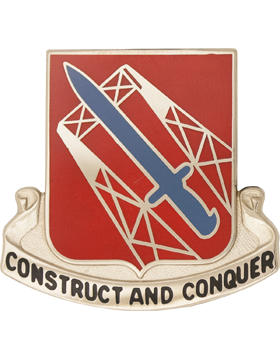 1030th Transportation Battalion Unit Crest (Construct And Conquer)