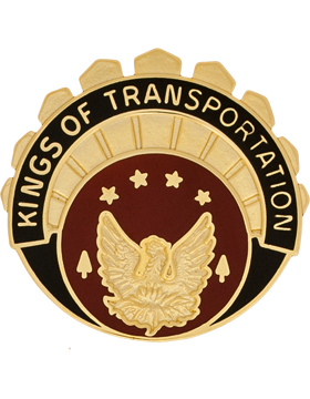 1120th Transportation Battalion Unit Crest (Kings Of Transportation)