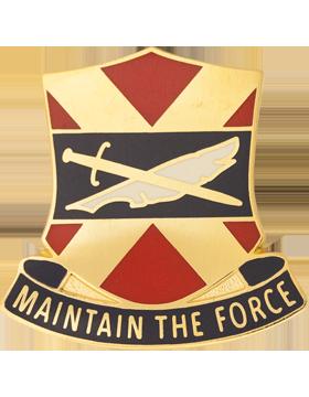 1146th Personnel Service Battalion Unit Crest (Maintain The Force)