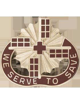 1207th Hospital Unit Crest (We Serve To Save)