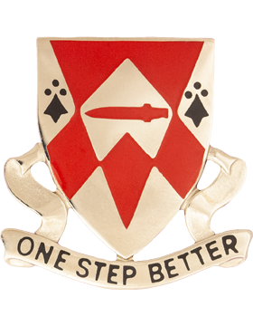 1249th Engineer Battalion Unit Crest (One Step Better)