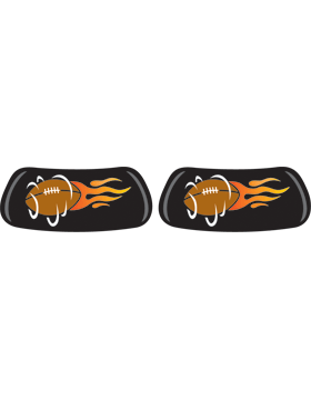 Flaming Football, Original EyeBlack EB-6850