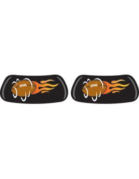 Flaming Football, Original EyeBlack EB-6850