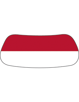 Red & White, Blank, Original Eyeblack EB-A1003