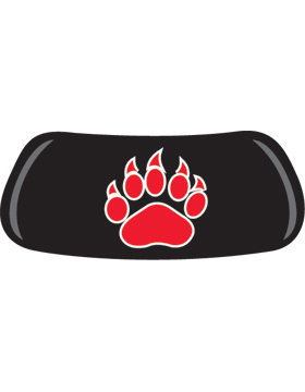 Bear Claw, Red, Original EyeBlack EB-A1192