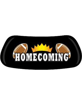 Homecoming Crown with  Football, Original EyeBlack EB-A1813