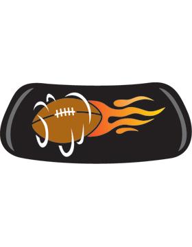 Flaming Spinning Football, Original EyeBlack EB-A7173