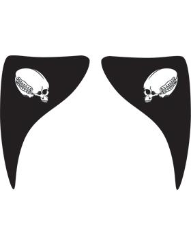 Football Skull, Warrior Eyeblack EB-W1171