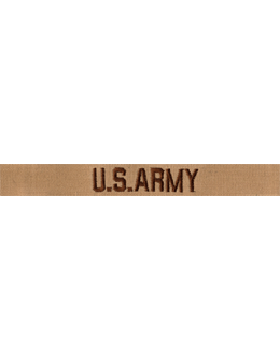 U.S. Army Embroidered .5 inch Gortex Desert Branch Tape